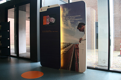 Display Reddingsmuseum Den Helder  Nederlands Loodswezen