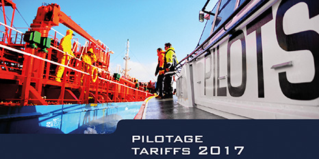 ACM sets a generic national tariff change of +1.42% on pilotage tariffs