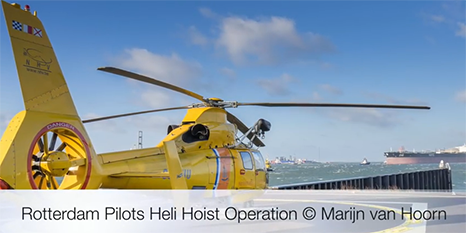 Film of a helicopter pilotage of tanker Eagle Barents approaching Port of Rotterdam + Time Lapse video of the trip to the discharge berth in Europoort.